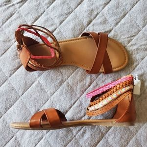 American Eagle Gladiator Sandals Sz 4.5